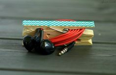 Colorful And Easy DIY Headphone Clips - DIY | Do it by my self