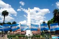 Do you think they have enough flags in Argentina?