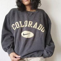 Vintage Nike sweater Oversized, and kind of has an awkward fit, but by no means, you probably can rock that s**t!! Nike Sweaters Crew & Scoop Necks