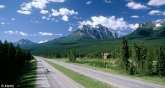 The Trans Canada Highway is the world's longest national road.