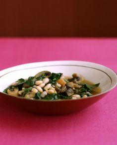 See the Quick Vegetable and Navy-Bean Stew in our Soups and Stews gallery