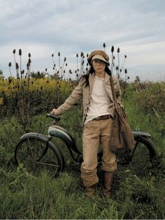 awesome tomboy style blog. I wouldn't dress like this, but only because Jerod and I would look too much alike.