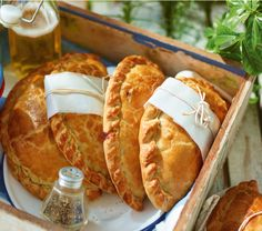 Who could resist biting into these delicious pasties, straight out of the oven or plucked from a picnic basket?