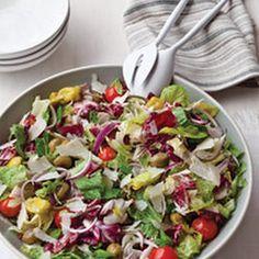 Big Italian Salad -- a great way to instantly get into Italian mood!
