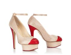 CRYSTAL KISS ME DOLORES - Charlotte Olympia - USD