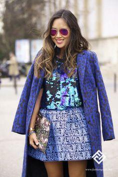 Street Style / Paris Fashion Week  / John Galliano Fashion Show  / Photo by Zina Esepciuc for www.fashionguide.md