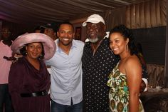 Bishop & First Lady Jakes with Mike Epps