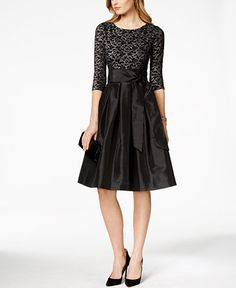 I wish this one came in other colors. I think it would compliment your dress, Macys