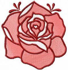 Red rose 12