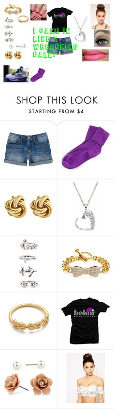 """""""I came in like a wrecking ball (Miley Cyrus<3"""" by london-chinababy457 ❤ liked on Polyvore featuring Rebecca Minkoff, Freaker, NLY Trend, Juicy Couture, Gorjana, Red Herring, NARS Cosmetics, ASOS and NP Set"""