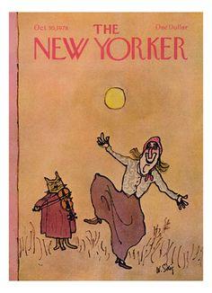 Copertina - The New Yorker - 30 ottobre 1978 (William Steig)