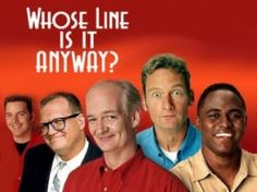 whose line is it anyway television series - is an improvisational comedy hosted by Drew carey on Abc family it ran from 1998 -2007.