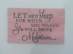 Let her sleep...for when she wakes she will move by PerriArts