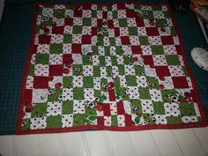 Jogo americano patchwork/bargello
