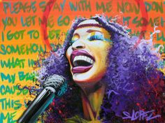Chaka Khan - Steven Lopez Art