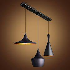 New Beat Aluminum Pendant Lamp Ceiling Light LED Chandelier Dining room lighting Copper Pendant Lights, Black Pendant Light, Multi Light Pendant, Pendant Lamp, Pendant Lighting, Small Lamp Shades, Rustic Lamp Shades, Modern Lamp Shades, Wooden Lampshade