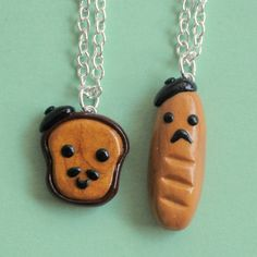 French Toast BFF Necklaces