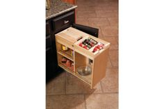 "Pull-Out Storage from ""Kitchen Storage Solutions"""
