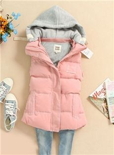 Hot Sale Sleeveless Cotton Jacket