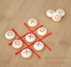 8 LOVE-LY recipes to treat your sweetheart for Valentine's Day! | How Does She...Edible Tic-Tac-Toe!