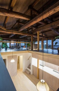 1-1 architects push habitable space boundaries for remodeled wooden house in japan