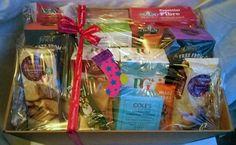 Gluten-free treats hamper by Mimic Gifts (mimicgifts@gmail.com)
