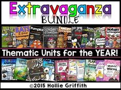 Extravaganza BUNDLE {Thematic Units for the YEAR}