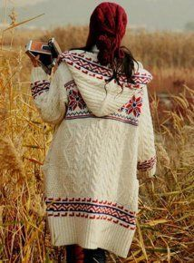 Fashion Double-Sided Straw Hooded Sweater - Designer Shoes|Bqueenshoes.com