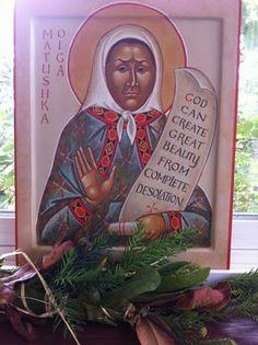Matushka Olga of Alaska - God can creat great beauty from complete desolation.