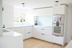 Kelvin & Co Windsor | Wilson #white #storage #modern #kitchen #interiordesign #minimalist #inspiration #kelvinandco