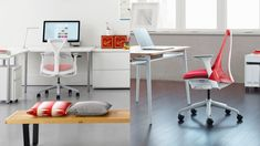 Come stare comodi in ufficio con una sedia ergonomica E Design, Corner Desk, Amazon, Furniture, Home Decor, Corner Table, Amazons, Decoration Home, Riding Habit