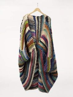 Free Knitting Pattern for Patchwork Baby Blanket Boho Fashion, Autumn Fashion, Womens Fashion, Knit Fashion, Fashion Art, Bohemian Style, Boho Chic, Mode Inspiration, Color Inspiration