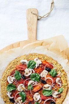 Nutrition Stripped | Cauliflower Pizza Crust