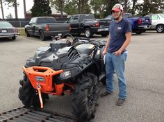 Thanks to Jesse Smith from Forest MS for getting a 2016 Polaris Sportsman 1000 High Lifter Edition at Hattiesburg Cycles