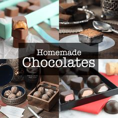 All the homemade chocolate recipes from Charlotte& Lively Kitchen. Including Bailey& truffles, caramel filled chocolates and even Easter eggs! Chocolate Videos, How To Temper Chocolate, Chocolate Sweets, Chocolate Filling, Chocolate Molds, Melting Chocolate, Chocolate Making, Tempering Chocolate, Chocolate Art