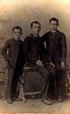 A50 - Antonio do Amaral do Camargo, tio Teodoro e tio Otávio do Amaral Camargo