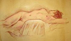 Modella di nudo