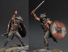 Ulfhednar II | Figures | Gallery on Diorama.ru Norse Tattoo, Viking Tattoos, 3d Tattoos, Tattoo Ink, Arm Tattoo, Sleeve Tattoos, Black And Grey Tattoos, Tattoo Black, Shoulder Armor Tattoo