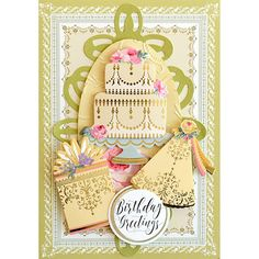 Anna Griffin® Mini Birthday Stickers and Sentiments - 9144917 Anna Griffin Inc, Anna Griffin Cards, Birthday Sentiments, Birthday Cards, Favorite Pastime, Foil Stamping, Card Kit, Greeting Cards Handmade, Vintage Cards