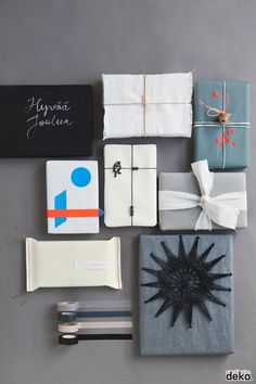 Embalagens de presente minimalistas. Só podia vir da Escandinávia <3 #giftwrapping #scandinavia #gift