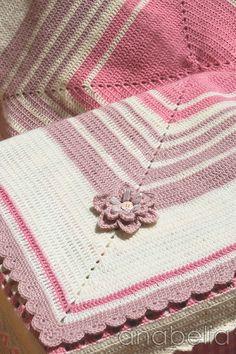 Anabelia Handmade: Manta para Sara