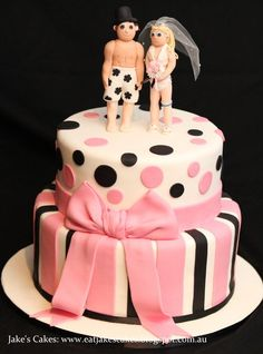 Bikini Figurine Wedding cake  Cake by Jakescakes