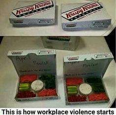 Veggie Donut Box