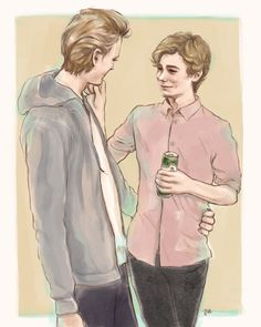 always thought we missed a shot of Even putting his hand around Isak's waist properly so I fixed a little :D
