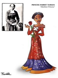 David Trumble Depicts Role Models as Disney Princesses - iVillage