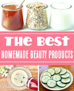 Homemade Beauty Products Recipes - DIY Skin Care and Hair treatments you can make at home! You won't believe how much you'll save when you make them yourself! Have you tried any of these yet?? Beauty Spa, Diy Beauty, Beauty Hacks, Homemade Beauty Recipes, Homemade Beauty Products, Ways To Save Money, Money Tips, Catholic Singles, Find Real Love