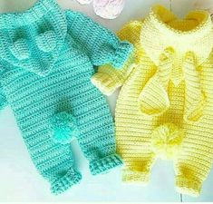 Overalls FREE Crochet Pattern for Baby new Pattern images for 2019 - Page 48 of 57 - Kids Crochets - Cute Outfits Boy Crochet Patterns, Crochet Baby Dress Pattern, Crochet Bebe, Crochet Baby Clothes, Crochet For Boys, Newborn Crochet, Baby Patterns, Free Crochet, Crochet Onesie