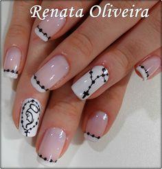 Cross Nail Designs, Cute Nail Art Designs, Toe Nail Designs, Cute Toe Nails, Love Nails, Pretty Nails, Pink Acrylic Nails, Shellac Nails, Nancy Nails