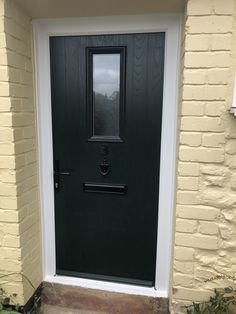 Take a peek at our Super Stylish Composite Doors! Prices start at just - fully fitted AND we will take your old door away!