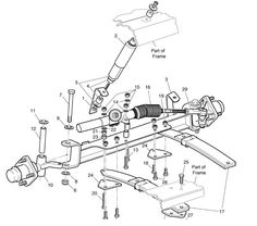 tie rod schematic Google Search Quad Cycle Pedal